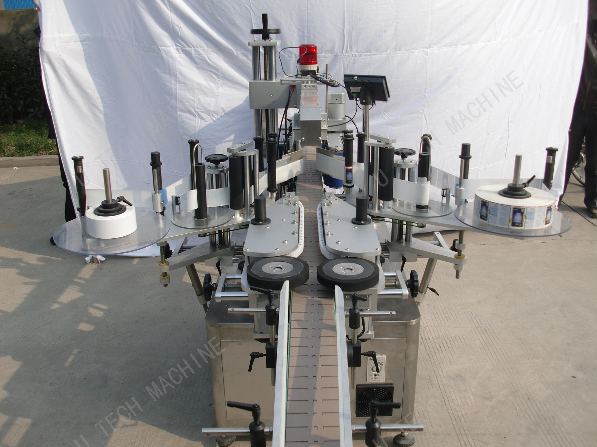 Double Sides Labeling Machine