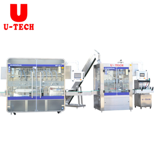 6000BPH Automatic1-5L Piston HDPE Bottle Jar Pail Motor Lube Engine Oil Liquid Filling Sealing Machine