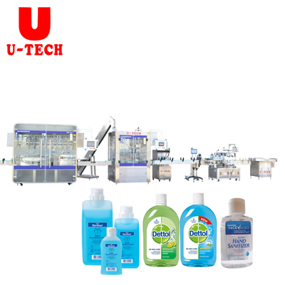 Automatic Hair Oil Filling Hand Gel Filling Oil Filling Perfume Filling Hand Wash Filling Machine