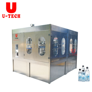 4000BPH Automatic Small Water Bottling Machine Production Line