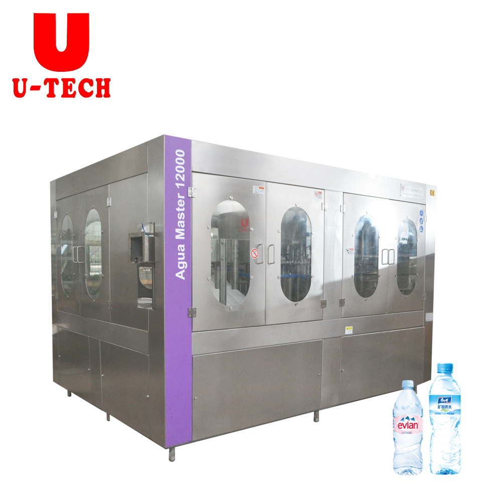 12000BPH Small Bottle Natural Spring Water Filling Machine Plant Price