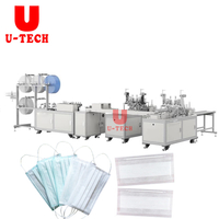 Face Surgical Dust Medical Mask Making Packing Machine