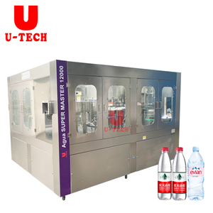 Auto Small Business Bottle Table Water Filling Bottling Machine Production Line