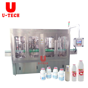 Automatic Small Plastic Bottle Lichi Milk Juice Filling Bottling Machine Price Plant