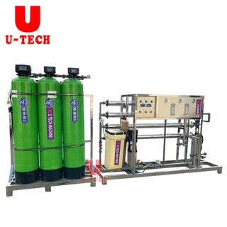 FRP Tank With RO Pure Mineral Spring Drinking Water Treatment System Plant